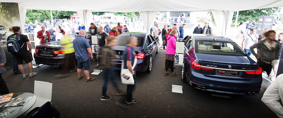 ALPINA @ the Festival of Speed in Goodwood